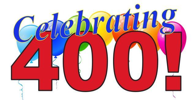 celebrate400