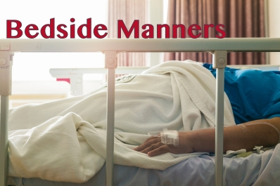 Close-up woman patient sleep in hospital with saline intravenous